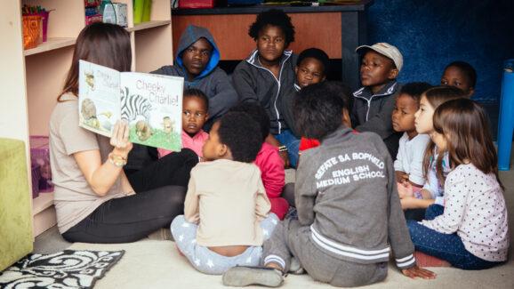 Lesotho school teacher reading to kids RESIZED NO LOGO
